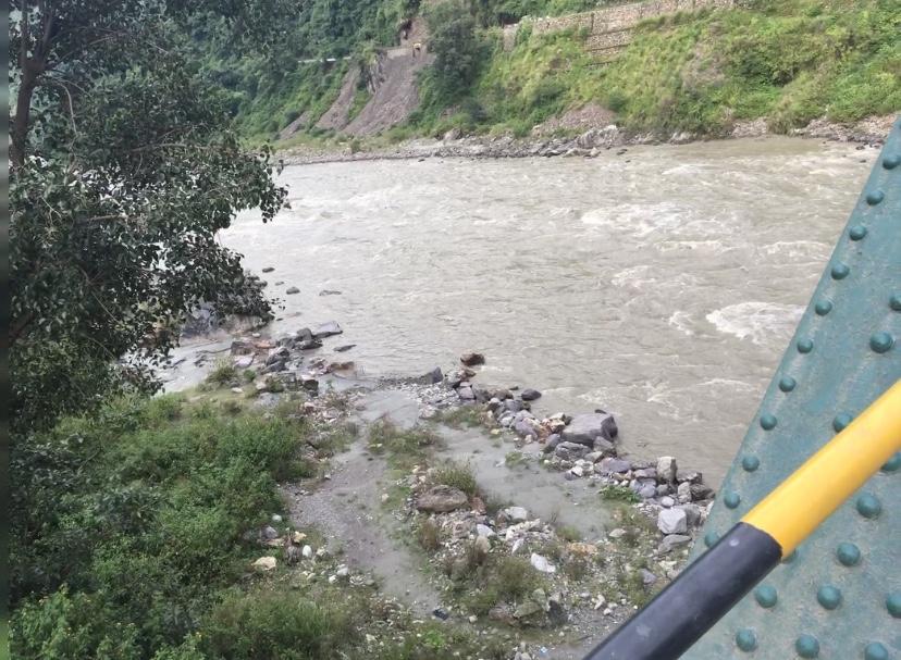 Yamuna river near Mussoorie