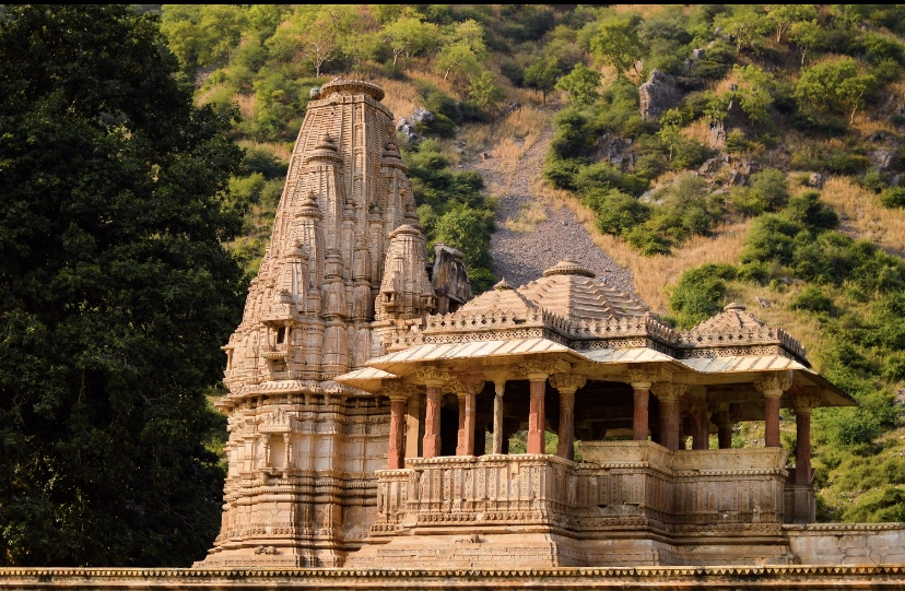 Bhangarh fort temple