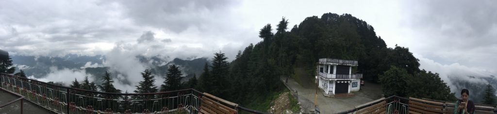 Panoramic view of Lal tibba