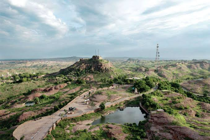Rao Jodha desert rock park: Jodhpur